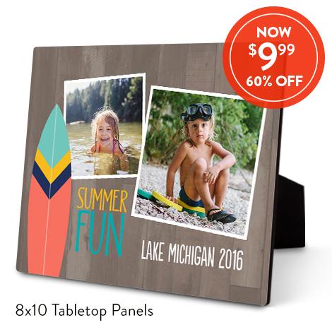 8x10 Tabletop Panels for $9.99 EA., Reg. $24.99 EA.