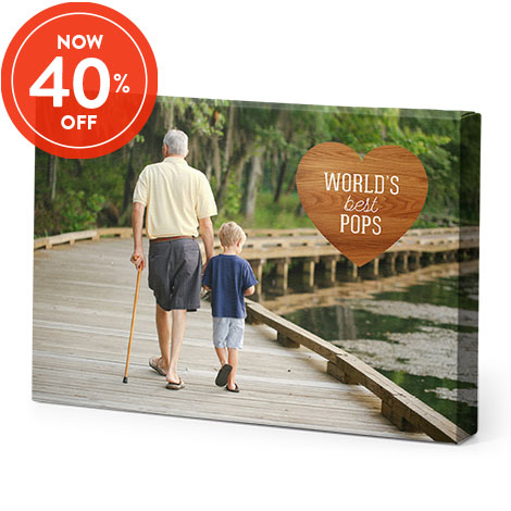40% Off All Canvas Prints