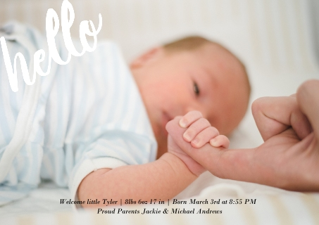 Baby Announcement Cards Birth Announcement Cards – Birth Announcment Cards