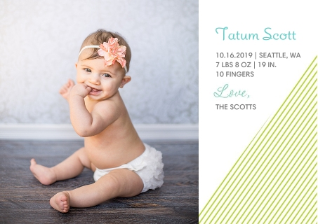 Baby Announcement Cards Birth Announcement Cards – Baby Photo Announcements