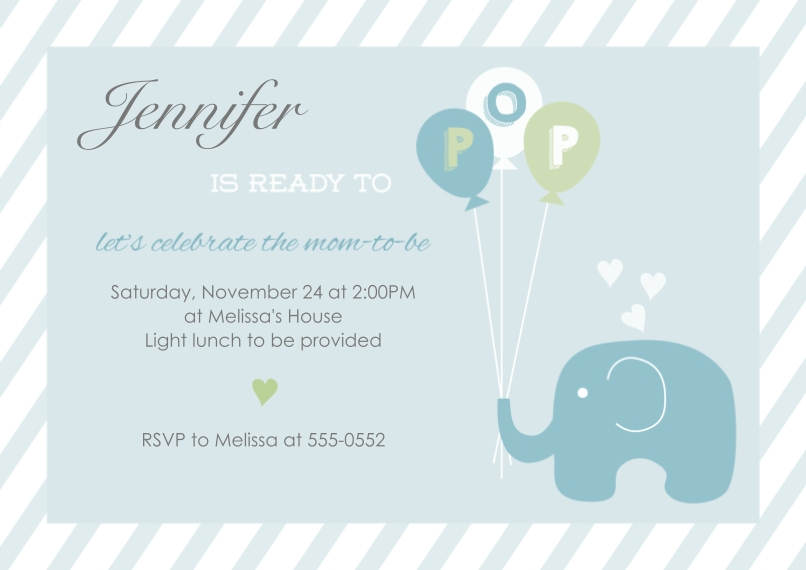 Baby shower invitations cards photo invitations cvs photo baby shower invites multi ready to pop boy ready to pop boy filmwisefo Images