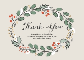 Thank You Cards Create Your Personalised Thank You Cards Snapfish Ie
