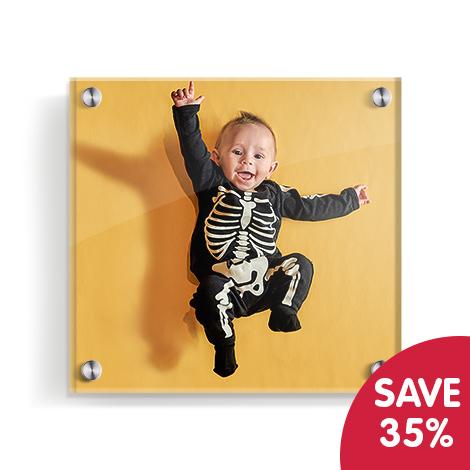 Save 35% on acrylic prints