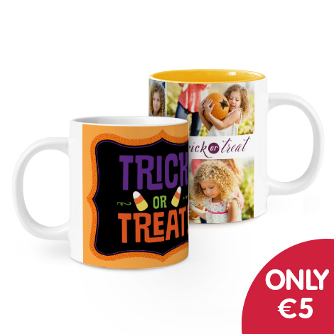 Only €5 on single and collage mug