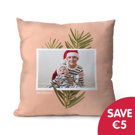 "Save €5 on 18x18"" cushion"
