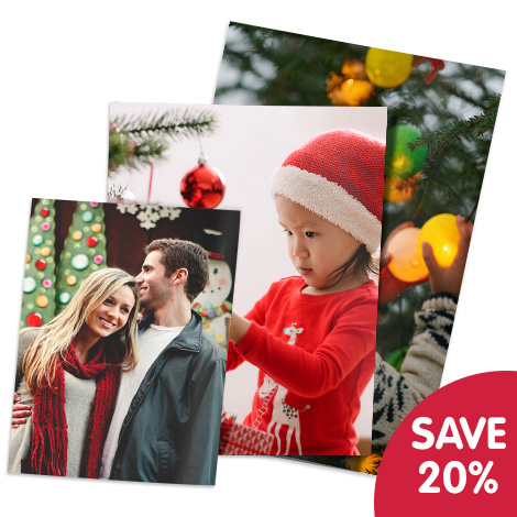 SAVE 20% ON PHOTO PRINTS