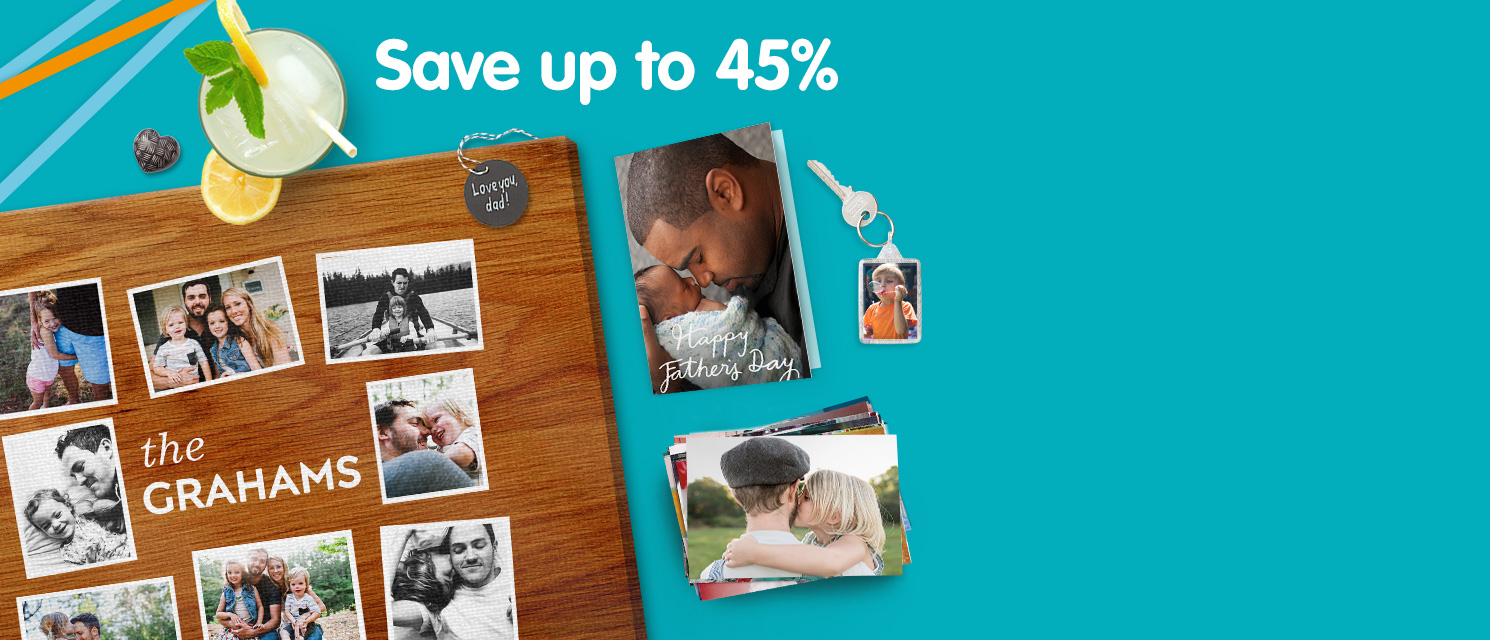 Save up to 45% across Boots Photo