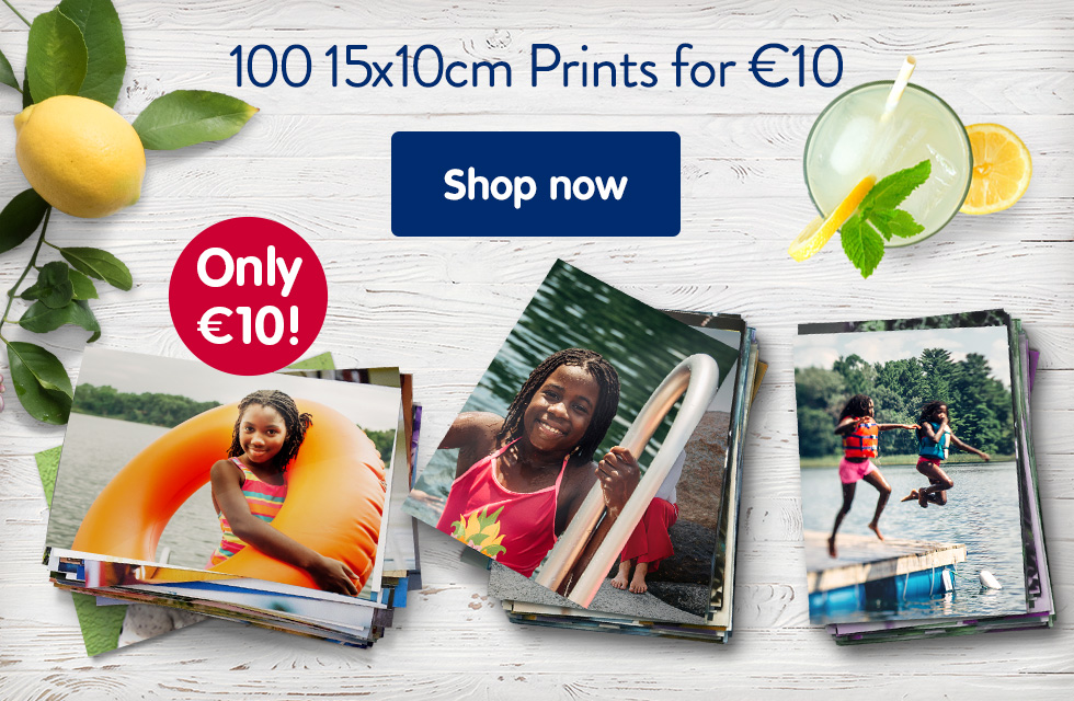 100 15x10cm Prints for €10