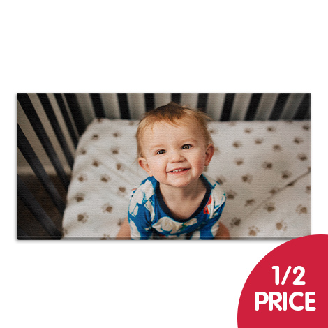 1/2 Price on larger classic canvas sizes (60x30cm and above)