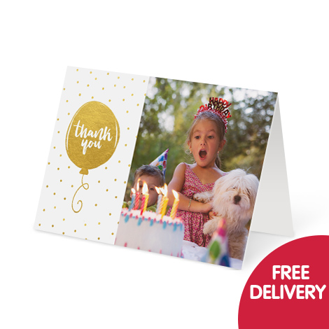 Save 1/3 on photo cards plus free delivery