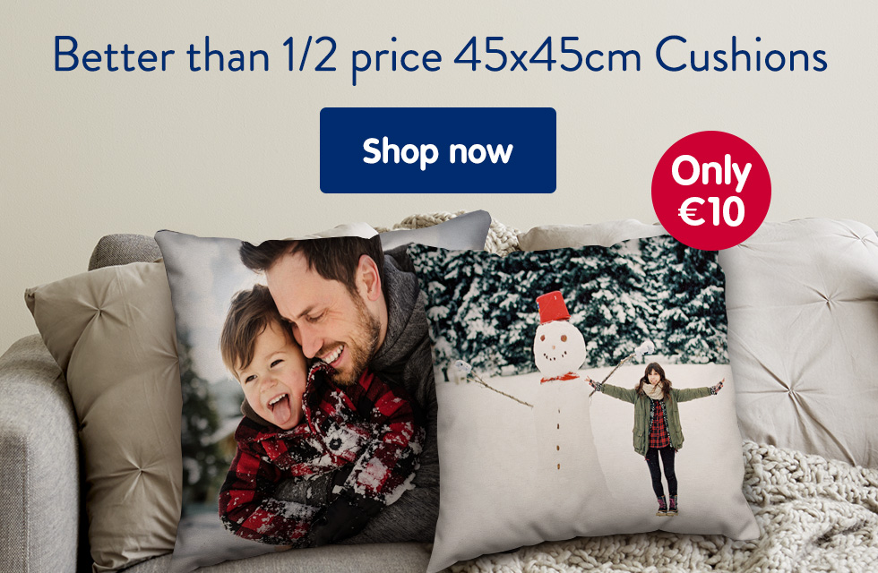 Better than 1/2 price 45x45cm Cushions