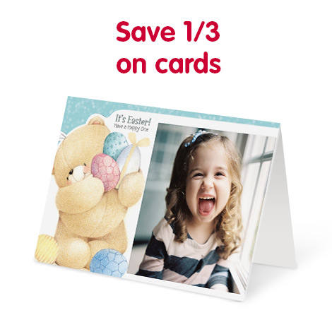 Save 1/3 on cards