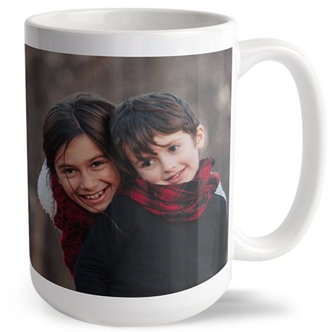 440ml (15oz) Personalised Photo Mug