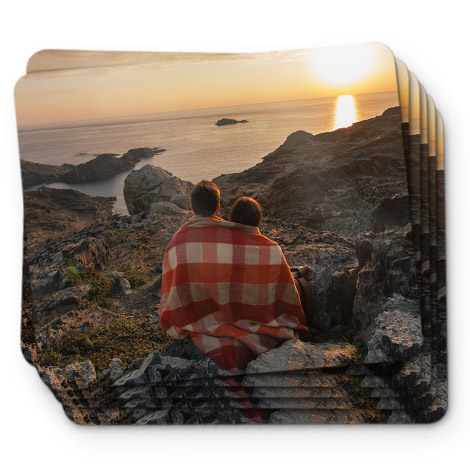 Set of 6 Personalised Photo Placemats