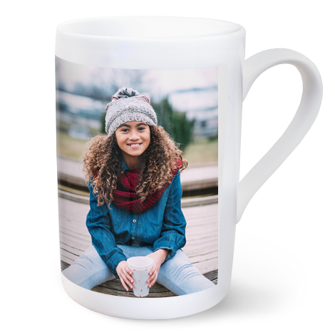 296ml (10oz) Personalised Porcelain Photo Mug