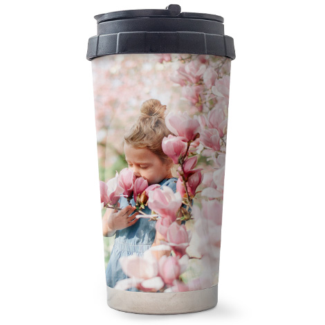 473ml (16oz) Travel Personalised Photo Mug