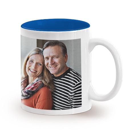 11oz Single Mug- Blue