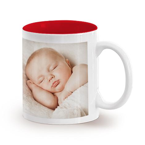 11oz Single Mug- Red