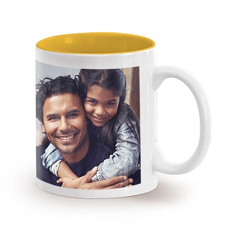 11oz Single Mug- Yellow