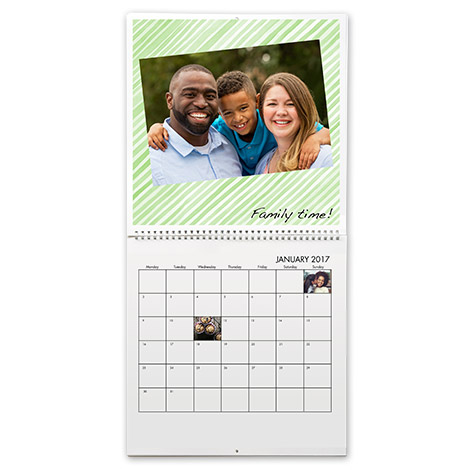 "12x12"" Square Wall Calendars"