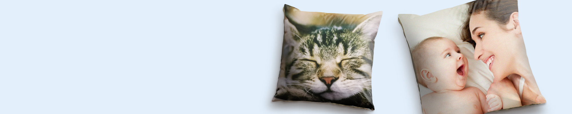 Photo Cushions : Soft Faux Suede and Canvas cushions featuring your favourite images to compliment your home!
