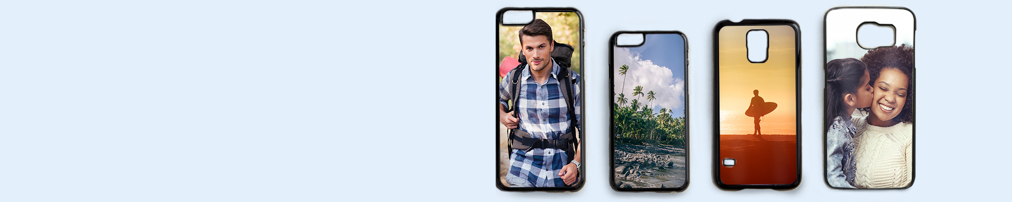 Photo Phone Covers Personalise your phone with your favourite photo with our great range of cases to fit most iPhone and Samsung Galaxy models