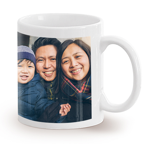 330ml (11oz) Single Image and Collage Mugs - Available in more colours