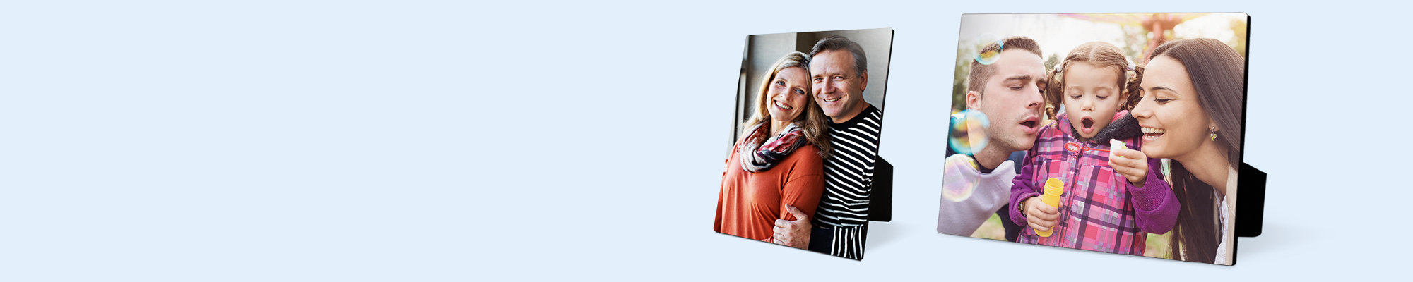 Photo Panels Use your photos to create stylish wood panels to display around your home or as a gift for loved ones