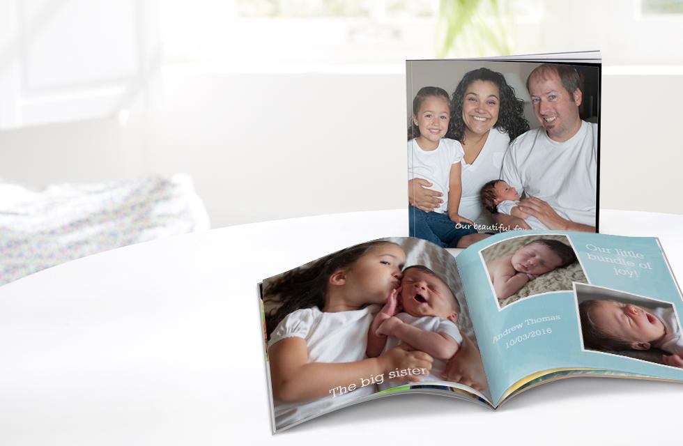 Soft Custom Cover Photo Books