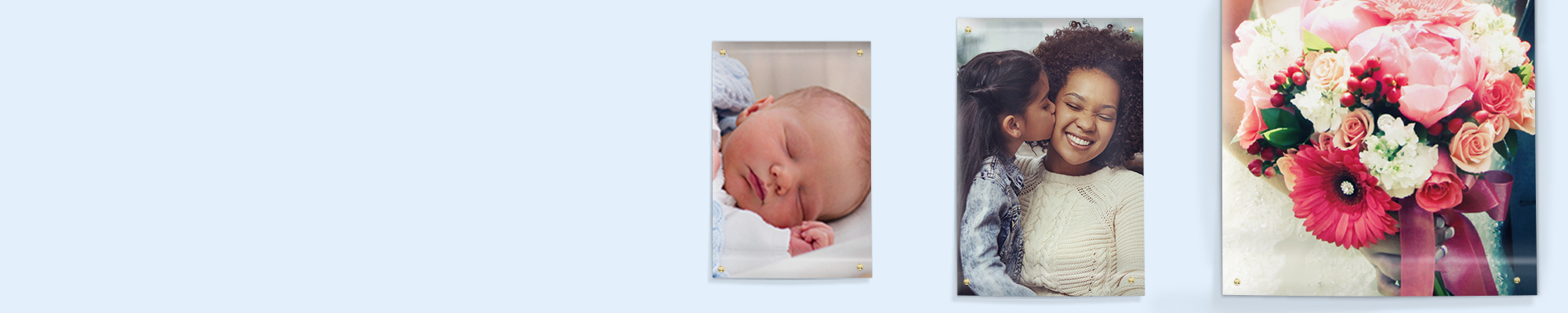 Photo Posters : Why not go large with your favourite snaps and create personalised photo posters. Posters are great for birthdays, events and kids bedrooms