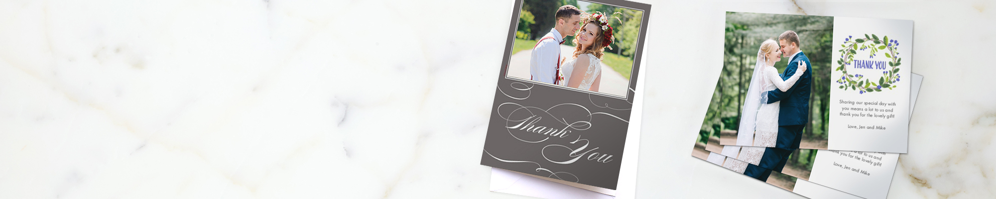 Wedding Cards Personalised cards to send to your family and friends to share in your special day
