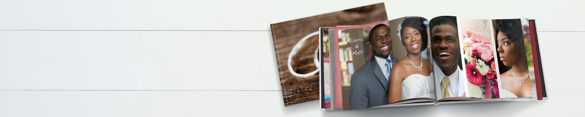 Wedding Photo Books : Your big day deserves a book this beautiful - celebrate your special day by creating a stunning photo book