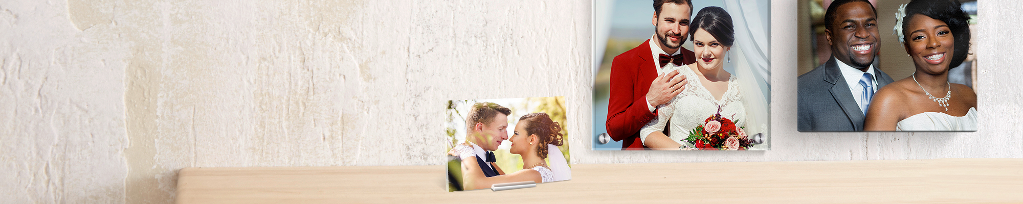 Wedding Wall Art & Canvas Showcase your special day with fabulous wall art to feature around your home