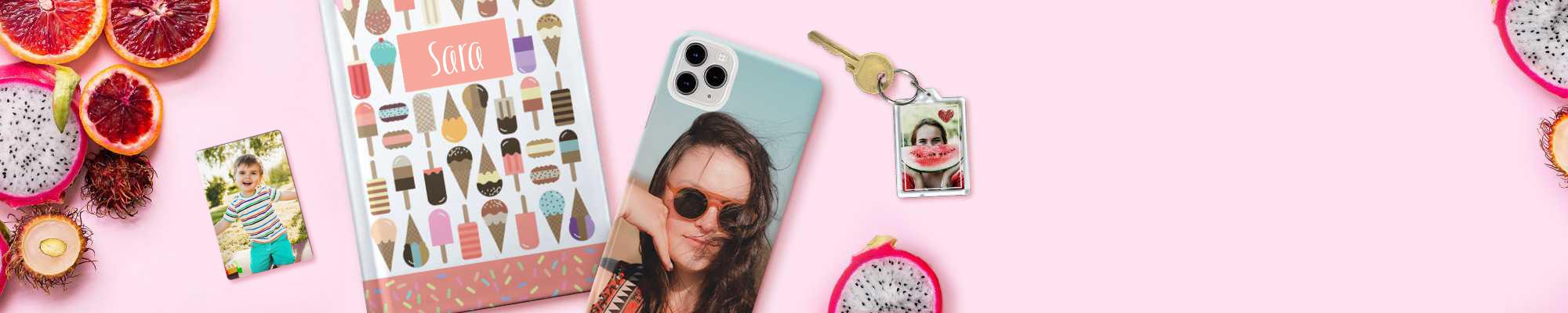 fotoregali e oggetti regalo con foto