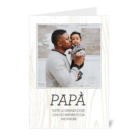 biglietti di auguri personalizzati festa del papà