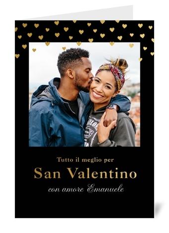 Biglietto di auguri personalizzato S.Valentino