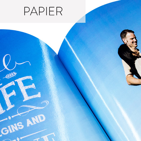 Photo Book paper types