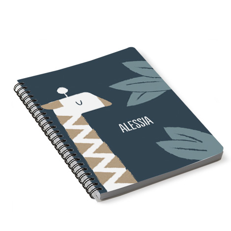 Quaderno personalizzato A5 copertina flessibile con spirale