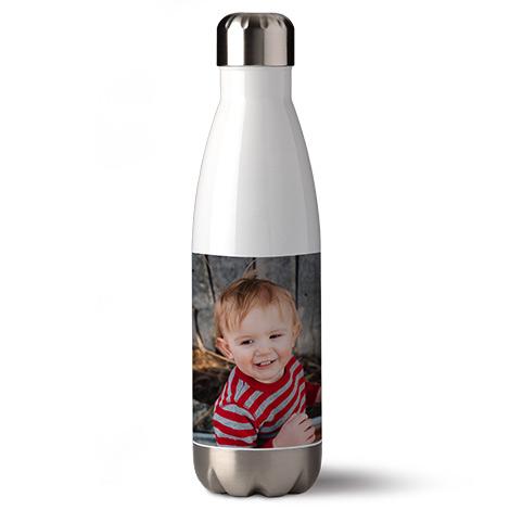 Borraccia personalizzata con immaggine di un bambino