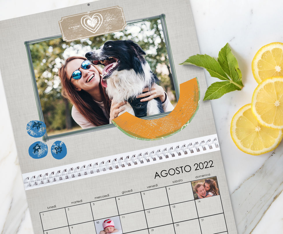 I nostri consigli per il tuo calendario personalizzato