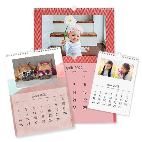 Calendari da parete classici