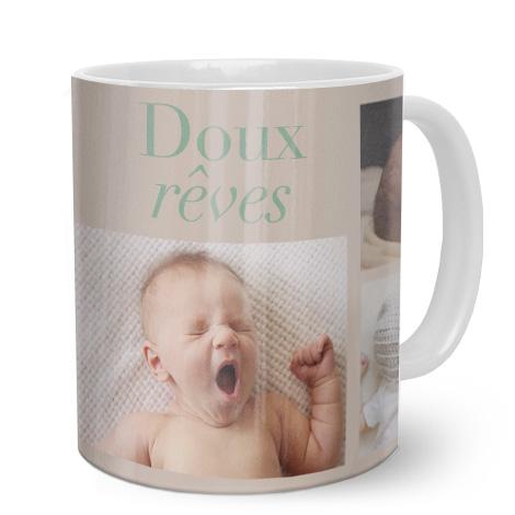 Bébé et mots doux