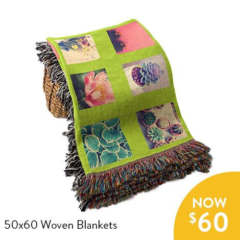 40% Off Blankets + Pillows