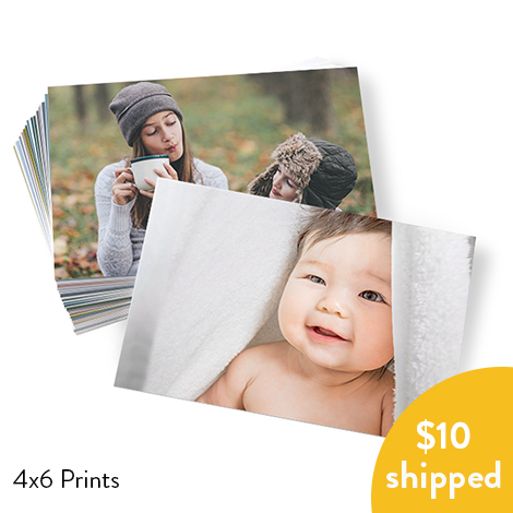 100 4x6 Prints for $10, Shipped or 300 for $29