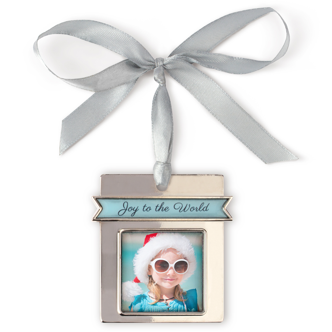 Joy to the World Photo Ornament | Christmas Ornaments and Decor ...