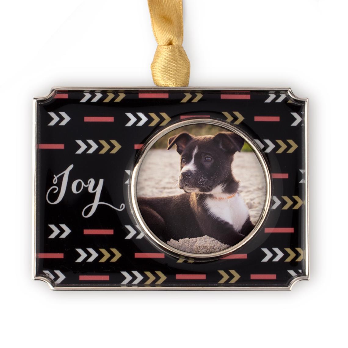 Joy Photo Ornament