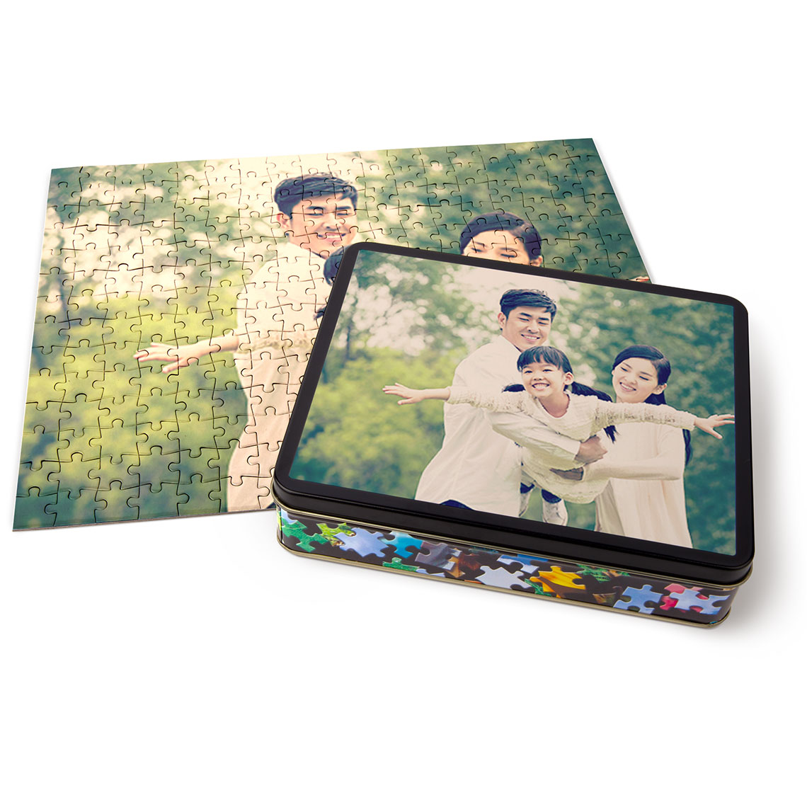 Photo Puzzle with Tin | Home Gift | Gifts | Snapfish US