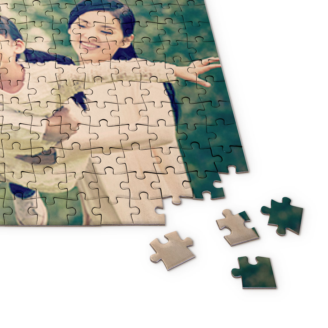 Create Photo Puzzle With Tin