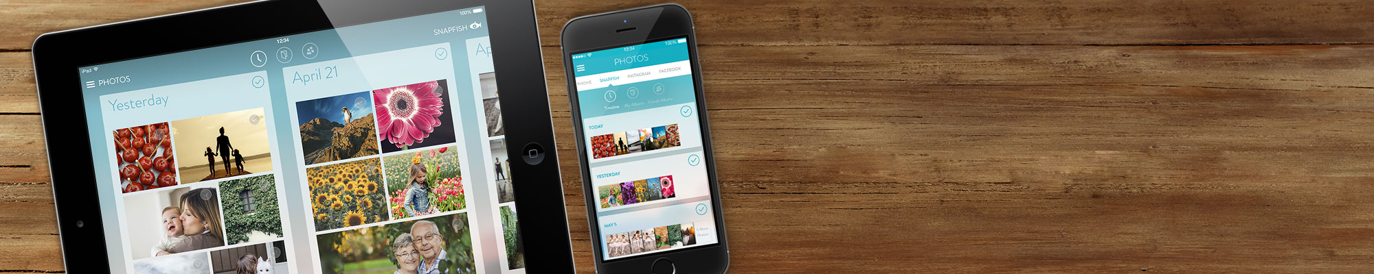 Snapfish App : Create prints + gifts wherever, whenever you're inspired.
