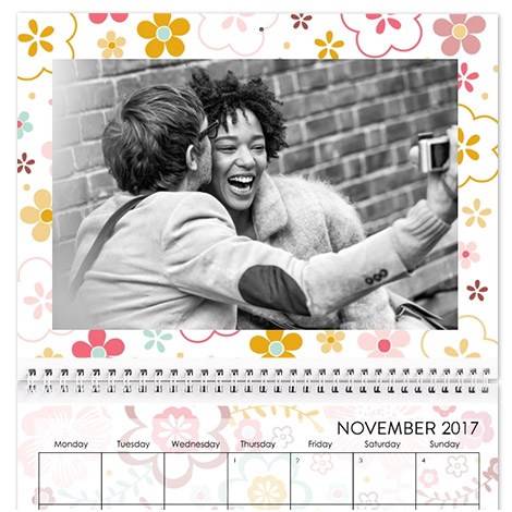 28x35cm Wall Calendar